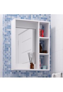 Armário De Banheiro Bbn 03-06 Branco - Brv Móveis