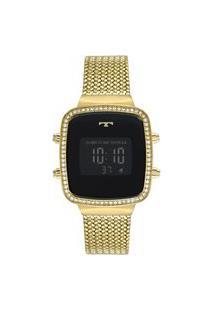 Relógio Technos Feminino Performance Digital - Bj3478Aa/4P Dourado