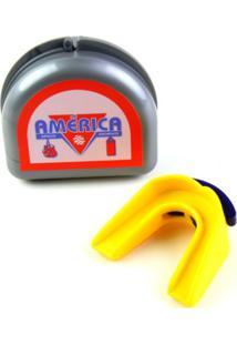 Protetor Bucal Duplo Amarelo América