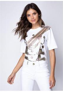Camiseta Lança Perfume Mullet Feminina - Feminino