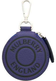 Mulberry Bolsa Carteira Redonda - Azul
