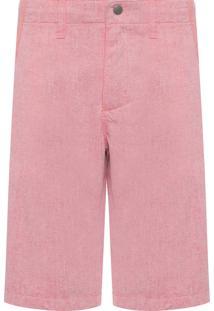 Bermuda Masculino Color Five Pockets - Rosa