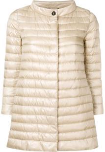 Herno Padded Fitted Jacket - Neutro