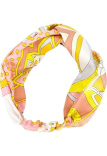 Emilio Pucci Multi Printed Headband - Estampado