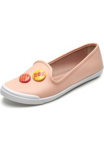 Slipper Moleca Bottom Rosa