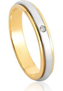 Aliança De Casamento Em Ouro 18K 3,5Mm