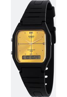 Relógio Unissex Casio Aw-48He-9Avdf-Br Analógico/Digital