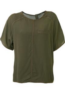 Camiseta Forum Pespontos Verde