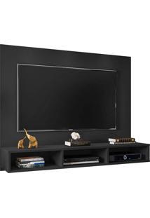 Painel Para Tv Até 55 Polegadas Quartzo Preto