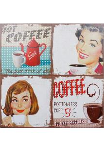 Quadro Hot Coffee Fullway 80X80X4