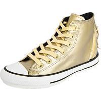 34b6daf6f5 Tênis Converse All Star Dourado feminino