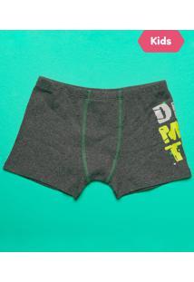390555bd169189 Cueca Boxer Infantil Dino Mescla - Puket - 6