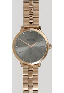 Relógio Analógico Mondaine Feminino - 53659Lpmvre3 Rosê