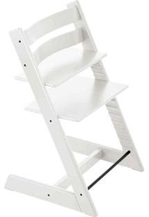 Cadeira De Alimentaã§Ã£O Tripp Trapp - Branca- 70X49X4Girotondo
