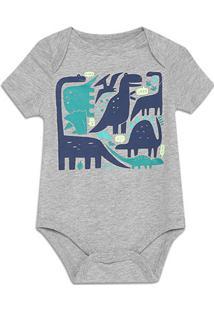 Body Bebê Gap Malha Estampado Masculino - Masculino