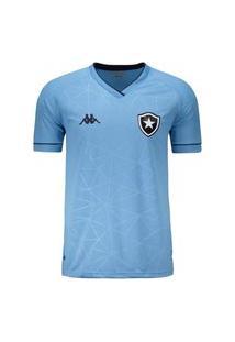 Camisa Kappa Botafogo Oficial Iv 2021/22 Juvenil