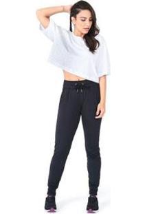 Camiseta Oversized Olympikus Feminina - Feminino-Branco