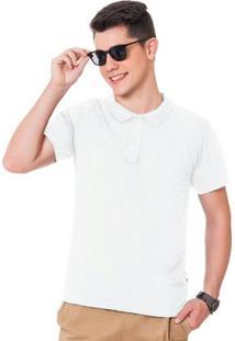 Camisa Polo Branco Fakini Evedy Day