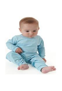 Up Baby - Pijama Térmico Para Bebê Rosa Claro
