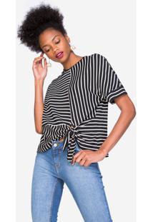 Camiseta Amaro Essential Knot - Feminino