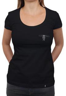 Floating - Camiseta Clássica Feminina
