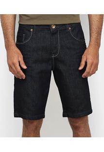 Bermuda Jeans Vide Bula Masculina - Masculino-Jeans