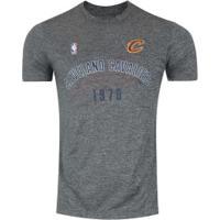 Camiseta New Era Cleveland Cavaliers Maps - Masculina - Cinza dc041d3695f