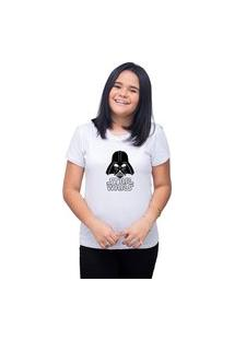 Camiseta T-Shirt Personalizado Star Wars - Branco
