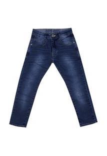 Calça Jeans Infantil Menino Slim Dudy'S Boy