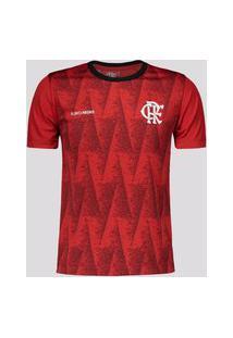 Camisa Flamengo Norm Infantil Vermelha