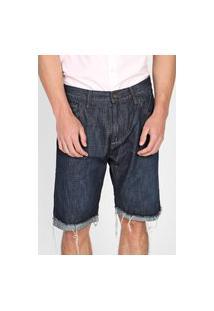 Bermuda Jeans John John Reta Melo Azul