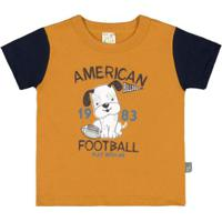 Camiseta Bebê Pulla Bulla Meia Malha Masculina - Masculino 0fc162b148179