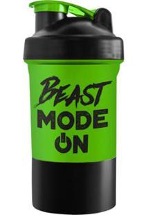 Coqueteleira 500 Ml Beast Mode On Powerfoods - Unissex