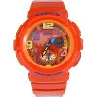 b70b2e5fdc8 Relógio Feminino Casio G-Shock Baby-G Analógico Digital Bga-190-4Bdr