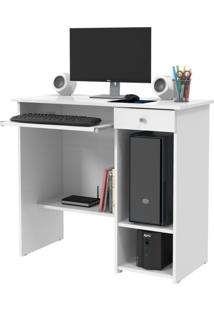 Mesa Para Computador Marina New 1 Gv Branca