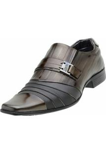 Sapato Social Venetto Verniz Topazzio - Masculino