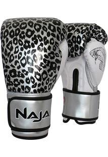 Luva De Boxe / Muay Thai Feminina Naja Animal Print Cobra 12 Oz - Feminino