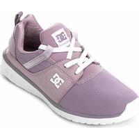 096b81a09 Tênis Dc Shoes Heathrow Imp Feminino - Feminino-Roxo