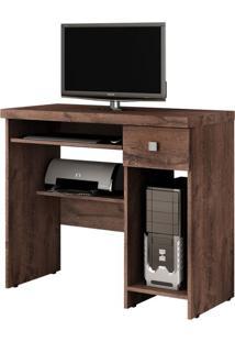 Mesa Para Computador System 1 Gv Castanho