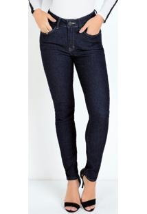 Calça Jeans Eventual Skinny Com Cinta Modeladora