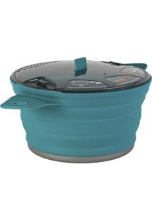 Panela Colapsável Sea To Summit 803205 X-Pot Large Azul