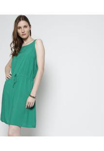 Vestido Com Amarração - Verdefolha
