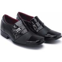 1868cf5e7d Sapato Social Schiareli Infantil Luxo Verniz - Masculino-Preto