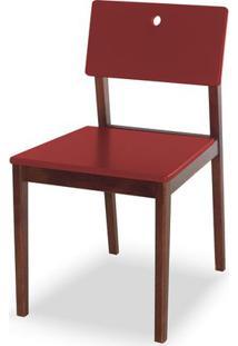 Cadeira Flip Cor Cacau Com Vinho - 30829 - Sun House