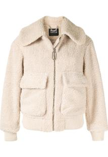 Markus Lupfer Faux-Fur Jacket - Branco