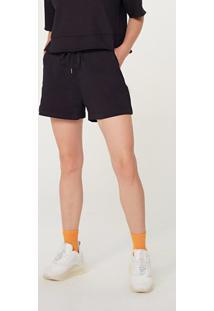 Shorts Feminino Em Moletom