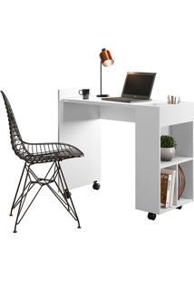 Mesa Para Computador Alessa 2 Branco