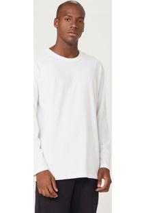 Camiseta Masculina Manga Longa Comfort Rústica