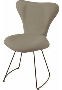 Cadeira Jacobsen Series 7 Cinza Com Base Curve Preta - 49611 - Sun House