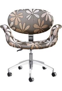 Cadeira 1970 Assento Multilaminado Aluminio Chenille 12392 - Sun House